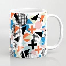 Kimbah - abstract art print shapes modern geometric retro cool colorful hipster gift idea dorm room  Mug