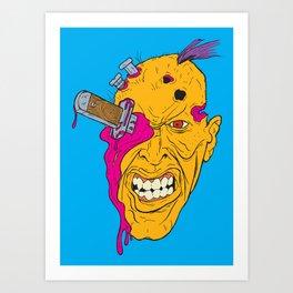 Knife-Eye Art Print