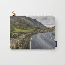 Llanberis Pass Winding Road Carry-All Pouch