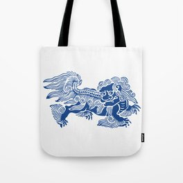 Lucky Lion Tote Bag
