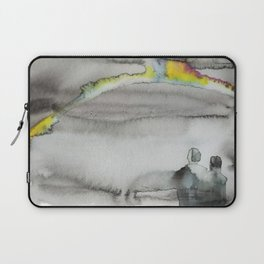 acid rainbow in the clouds Laptop Sleeve