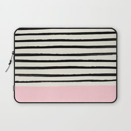 Millennial Pink x Stripes Laptop Sleeve