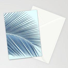 Palm leaf - oceanic Stationery Cards