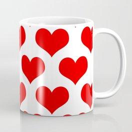 Holidaze Love Hearts Red Coffee Mug