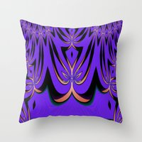 aliens Throw Pillows featuring Aliens... by Cherie DeBevoise