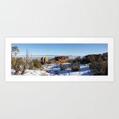 High Noon Panorama 2.0 Art Print