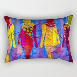 Body Language 58 Rectangular Pillow