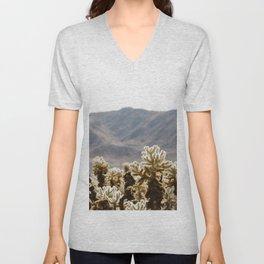 Cholla Cactus Garden Unisex V-Neck