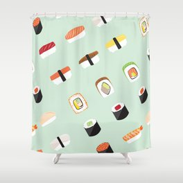 Food Series - Sushi Shower Curtain