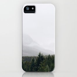 Mount Grinnell Forest iPhone Case