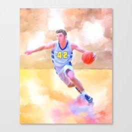 The Spirit of Basketball - Athletic Art Canvas Print
