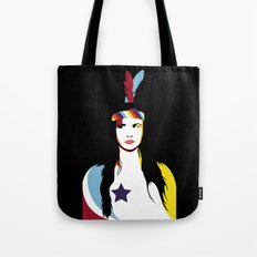=Juliette Lewis///Black= Tote Bag