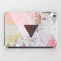 grey iPad Cases featuring Graphic 3 by Mareike Böhmer