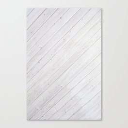 Wooden Boards Canvas Print