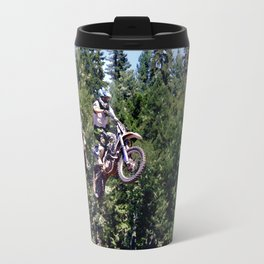 Closing In - Motocross Racers Travel Mug
