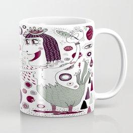 The Bird Lady Cometh Coffee Mug
