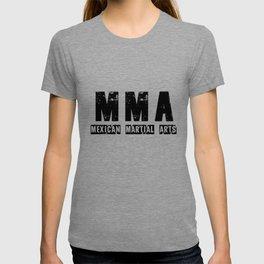 Mexican Martial Arts - Black Logo T-shirt