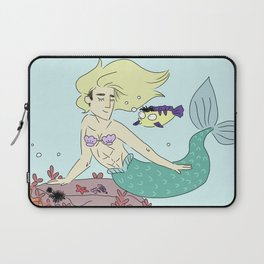 mermaid smol & tol Laptop Sleeve