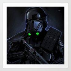 Deathtrooper Art Print