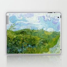 Van Gogh Green Wheat Fields Auvers 1890 Laptop & iPad Skin