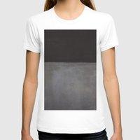 rothko T-shirts featuring Mark Rothko Black on Grey by Angelina Fenty
