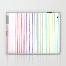 RAINBOW WATERCOLOR LINES Laptop & iPad Skin