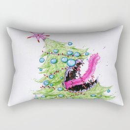 Leian, the ancient demon tree of Christmas Rectangular Pillow