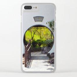 Portal Clear iPhone Case