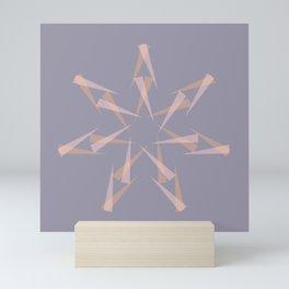 Pastel XMas Design I Mini Art Print