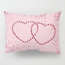 In Love Sparkling Glitter Hearts #2 #red #decor #art #society6 Pillow Sham