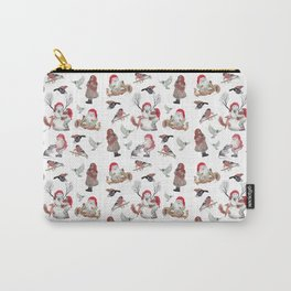 Gnome pattern - Christmas Carry-All Pouch
