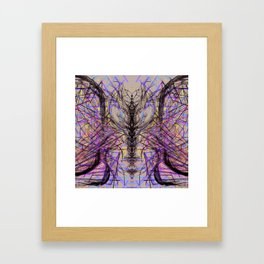 Spinal Fluidity Framed Art Print