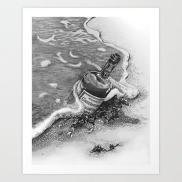Any Port in a Storm Art Print