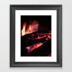 Bonfire2~takibi~ Framed Art Print