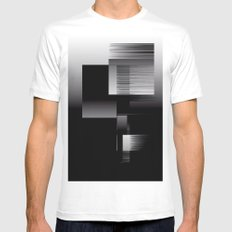 Level Mens Fitted Tee White MEDIUM