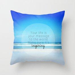 Inspiring Throw Pillow