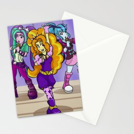 Under Our Spell - The Dazzlings Rock! Stationery Cards