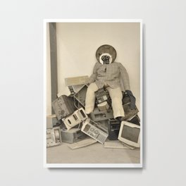 wasted minds Metal Print
