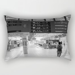 here and there Rectangular Pillow