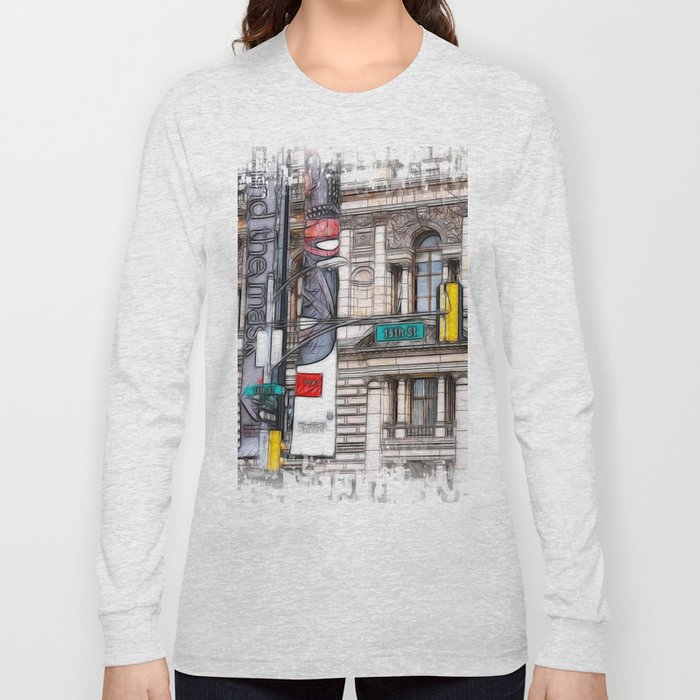 World War Z Street Location Long Sleeve T-shirt