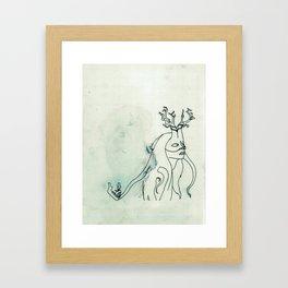The Husband Eater (sketch) Framed Art Print
