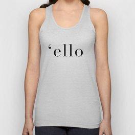 Ello T-Shirt Unisex Tank Top