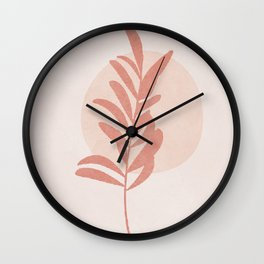 Minimal Little Branch II Wall Clock
