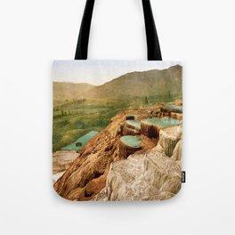 Pulpit Terraces Mountains Tote Bag