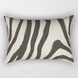Painted Zebra Rectangular Pillow