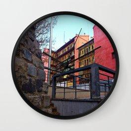 Old Town of Madrid - Lavapiés Wall Clock