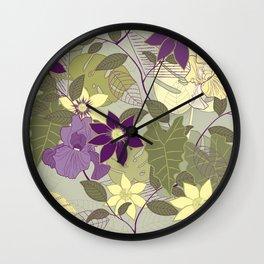 Clematia Wall Clock