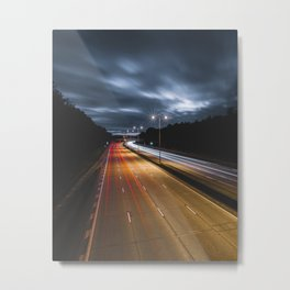 Long drives Metal Print