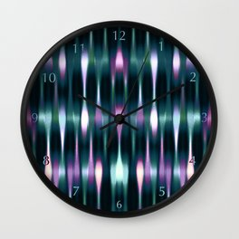 The Jelly Bean Express Platform 54 Wall Clock