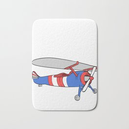 """Plane Shirt For Pilot """"This Is My Plane Shirt"""" T-shirt Design Fly Flying Clouds Drive Airplane Air Bath Mat"""
